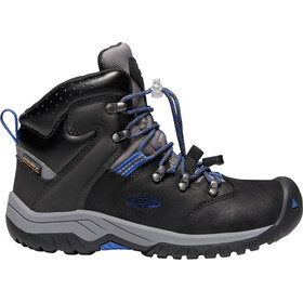 Keen Junior Torino II WP Mid Shoes black/baleine blue